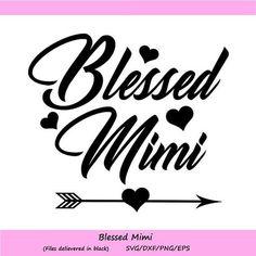 Download Best Mimi Ever Mother Mom SVG Best Mimi Ever SVG Vector ...
