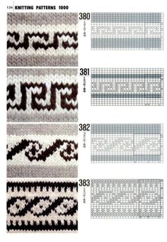 Knit patterns | Fair Isle | Pinterest
