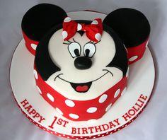 cute Minnie Mouse Cake Birthday Cake Girls, Birthday Cakes, Girl Birthday, Birthday Ideas, Birthday Parties, Mickey And Minnie Cake, Minnie Mouse Cake, Cupcake Cakes, Cupcakes