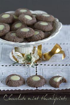 Galletas de Chocolate y Menta | A mi lo que me gusta es cocinar