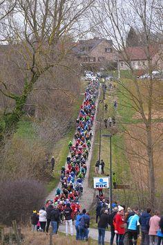 72nd Omloop Het Nieuwsblad 2017 / Men Landscape / Peloton / Fans / Public / Gent Gent / Men / Flanders Classics /