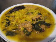 Arroz con acelgas. Arroç amb bledes. Rice with chard.