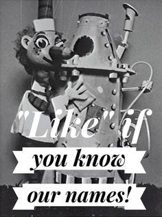 Mr Squiggle and Rocket - Australian TV show nostalgia