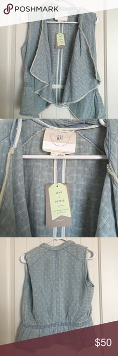 Anthropologie vest Size small NWT bundle For a Better deal on shipping. Anthropologie Jackets & Coats Vests