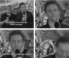 In today's edition of why I love the man who plays Loki, let's talk about how Tom Hiddleston has the most amazing vocabulary. Possibly one of the best in Hollywood next to Benedict Cumberbatch who has his own expansive lexicon. (Oh the things these t