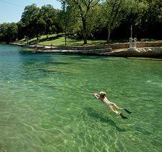 Anyone else ready for summer? Barton Springs, Austin, TX