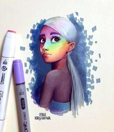 Chin up, Princess ♡ Pinterest : ღ Kayla ღ | Ariana art ...