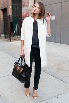 Streamline your work wardrobe with this simple styling trick and cut that getting ready time in half. The quickest way to ensure you look chic, pulled-together and professional for the office is to adhere to a monochrome uniform – that means strictly no deviating from black and white.