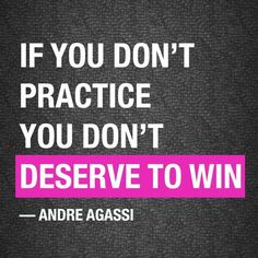 Best motivation quotes for athletes by ANDRE AGASSI