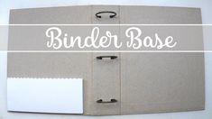 Binder Base - How to create it #scrapbookprintouts