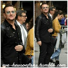 Eve Hewson with her Dad (Bono) in New York, September the 26th and the 29th (2013). #u2NewsActualite #u2NewsActualitePinterest #u2 #bono #PaulHewson #music #rock #EveHewson
