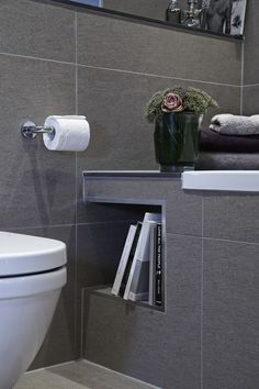 Boscolo - Detached Family Home - Family Bathroom. Handy for storing candles when they're not lit.