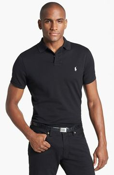 47b7f6541f3 Polo Ralph Lauren Custom Fit Mesh Polo available at  Nordstrom Simple  Shirts