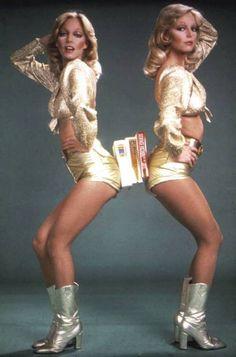 Disco librarian book ends? 70s Fashion, Look Fashion, Vintage Fashion, Moda Disco, Jeane Manson, Flower Power, Disco Night, Disco Disco, 1970s Disco