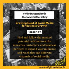 Social media helps you reach potential collaborators across and beyond boundaries for business growth and advancement. Digital Marketing Services, Email Marketing, Content Marketing, Social Media Marketing, App Development, Image Sharing, Business, Store, Inbound Marketing