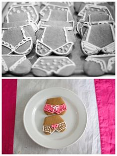 cute bachelorette cookies.. haha. Probably the only time I would like this sort of cookie design.