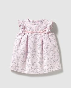 Baby girl dress Sweaters with pink print