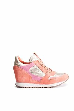 Time for a new sportier range of wedge trainers this season - can't wait to get our hands on these from ASH!