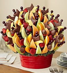 Fruit Bouquets: Deliver edible fruit bouquets to share!