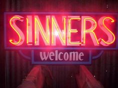 Sinner welcome in neon Fallout, Organization Xiii, Kitsch, We Heart It, The Wicked The Divine, Grunge, Saints Row, Southern Gothic, Shall We Date