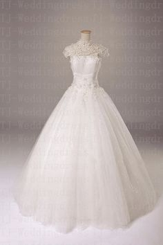 New Ivory/White  Wedding dress Bridal Gown by hongxinweddingdress, $215.00