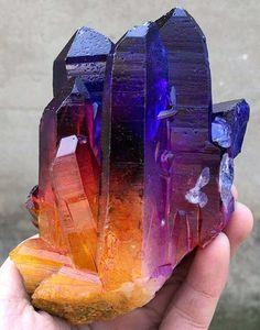 Cuarzo aurora arcoiris