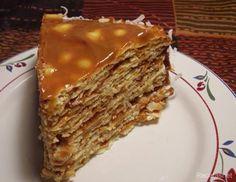 torta de hojas | Torta de hoja / Postres / Chile