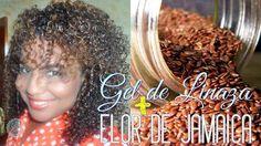 Receta para cabello rizado: Gel de linaza con Flor de Jamaica y Aceites en vídeo