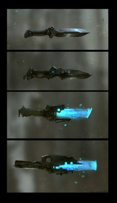 Knives. Equipment.