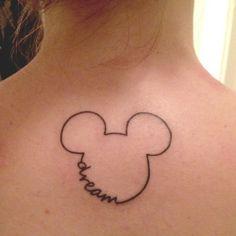disney tattoo again I think smaller.