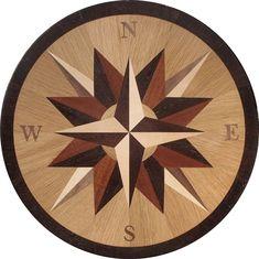 IPWM-2W (Bethany)  | Hardwood Medallion