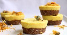 Sou Paleo: Cupcakes de Manga. divinamente cremosos com um toque de gengibre fresco e limão.