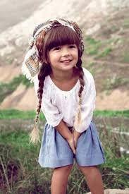 Een schatig meisje
