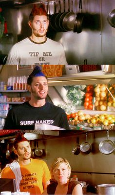 Jensen Ackles in Ten Inch Hero I don't know what's better, the hair or the shirts. Zeppelin, 10 Inch Hero, Supernatural 9, Daneel Ackles, Winchester Boys, About Time Movie, Series Movies, Big Bang Theory, Jensen Ackles Hair