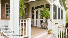 half screened porch--Love