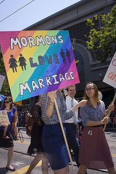 Mormons for Marriage Equality, San Francisco LGBT Pride Parade 2013