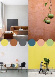 colortherapy.se – a blog for color lovers Color Combos, Color Schemes, Blog, Lemon, Lovers, Happy, Home Decor, Style, R Color Palette
