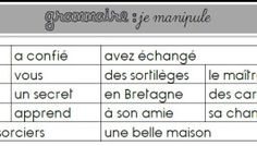 Une séquence sur les compléments dans la phrase (COD, COI et Compléments Circonstanciels)