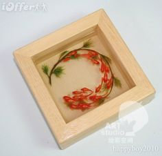 3D resin painting