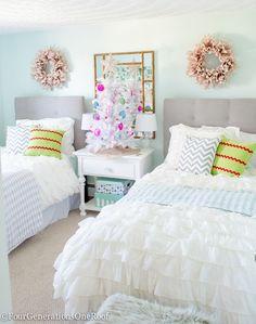 Teen Girl Christmas Bedroom