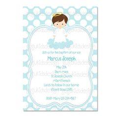 Baby baptismchristening invitations printable diy infant baby diy printable file baptism invitation stopboris Images