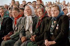 Kolchoz, USSR, 50s by Semen Fridlyand