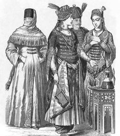 15th century Turkish Women's Clothing  http://theborgias.forumotion.com/t27-15th-century-turkish-women-s-clothing#