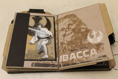 Every family seems to have a Star Wars geek (yes, I am one too) who would love an original mini-book to organize phone numbers, emails, ph...