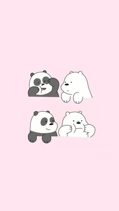 We Bare Bears who is your favourite bear? mine is Ice Bear🙆