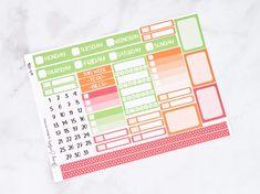 November 2020 Thanksgiving Weekly Planner Kits - B - strip days