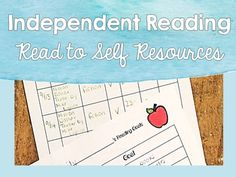 Independent Reading :: Read to Self:: This is a pack of simple, Common Core aligned independent reading folder materials! Great for upper elementary school/middle school students. Can be used as part of Daily 5 (Five) Read to Self! Reader Response Menu questions are Common Core aligned & based on Webb's Depths of Knowledge question stems.Includes:- Independent Reading Journal Set Up Guide- Independent Reading Log- Independent Reading Goal Sheet- Editable, Fiction & Nonfiction Reader R...