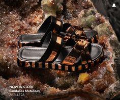 #BELLMUR #Verano16   NOW IN STORE: Sandalias Metálicas // ZBELL128  ¡Te invitamos a conocer la nueva colección de #BellmurShoes en nuestro local de Montevideo Shopping!