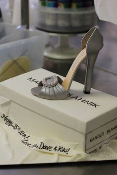 Sugar Shoes: How to Make Gumpaste Shoes. I know someone I need to do this for!