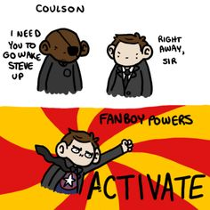 comic Captain America Steve Rogers avengers Nick Fury Coulson agent phil coulson the avengrs